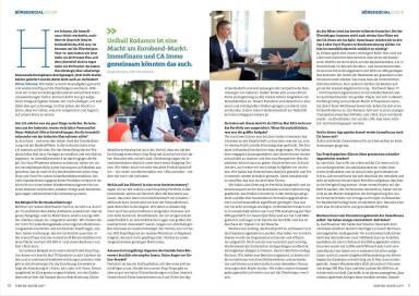 Interview Immofinanz CEO Oliver Schumy - Börse Social Magazine #08