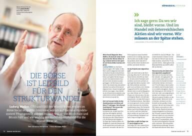 Die Börse ist Leitbild für den Strukturwandel (Interview mit Ludwig Nießen, CTO und COO der Wiener Börse) - Börse Social Magazine #08
