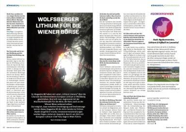 Wolfsberger Lithium für die Wiener Börse - Börse Social Magazine #09
