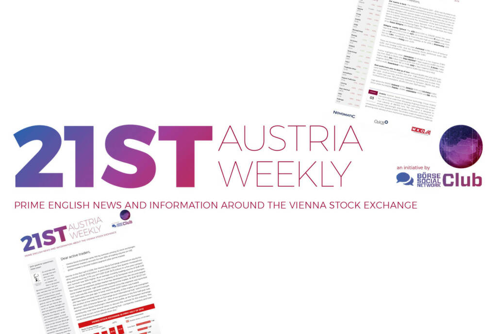 21st Austria Weekly Atx Climbs Up 354 And Back Over 3000 1603