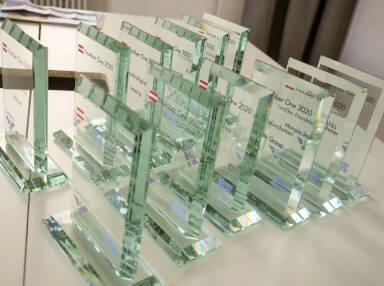 Number One Awards von BSN und Captrace
