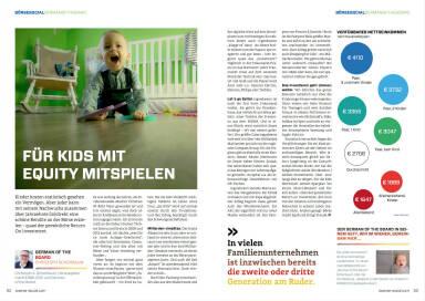 Für Kids mit Equity mitspielen - Börse Social Magazine #05