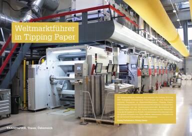 Mayr-Melnhof - Weltmarktführer in Tipping Paper