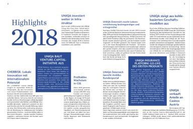 Uniqa - Highlights 2018