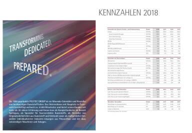 Polytec - Kennzahlen 2018