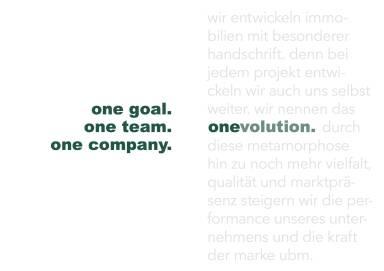 UBM - one goal. one team. one company.