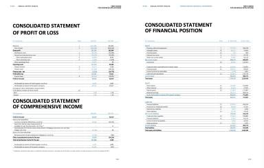AT&S Consolidated Statement