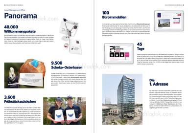 Panorama, Willkommenspakete, Schoko-Osterhasen, Frühstückssäckchen, Büroimmobilien