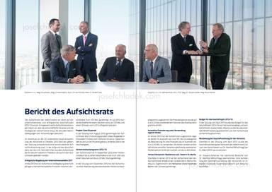 Bericht des Aufsichtsrats, Vitus Eckert, Christian Böhm, Nick J. M. van Ommen, Rudolf Fries, Michael Knap, Herbert Kofler, Klaus Hübner