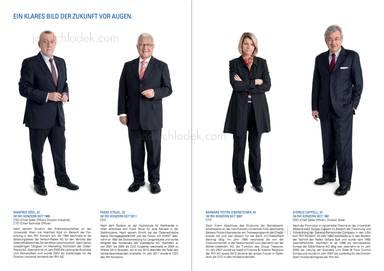 """Vorstand RHI: Manfred Hödl, Franz Struzl, Barbara Potisk-Eibensteiner, Giorgio Cappelli - """"Ein klares Bild der Zukunft vor Augen"""""""