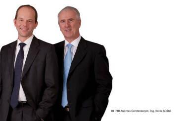Vorstand: Andreas Gerstenmayer, Heinz Moitzi