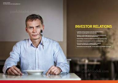 Christian Prohaska, Küchenchef, Löffel, Investor Relations