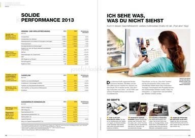 Österreichische Post Geschäftsbericht 2013 - Solide Performance 2013