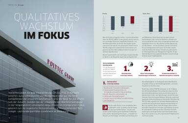 Polytec Geschäftsbericht 2013 - Qualitatives Wachstum im Fokus