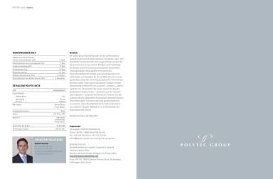 Polytec Geschäftsbericht 2013 - Impressum, Manuel Taverne