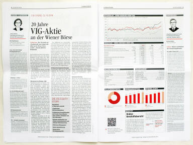 Vienna Insurance Group Konzernbericht 2014 - VIG Aktie