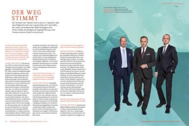 Telekom Austria Group Geschäftsbericht 2014 - Der Weg stimmt - Vorstand