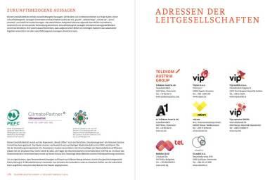 Telekom Austria Group Geschäftsbericht 2014 - Adressen der Leitgesellschaften