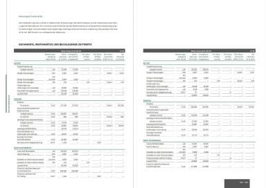 UBM Jahresfinanzbericht/Geschäftsbericht 2014 - Buchwerte