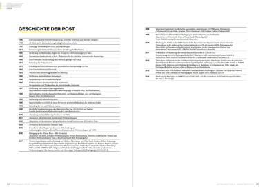 Österreichische Post Geschäftsbericht 2014 - Geschichte der Post