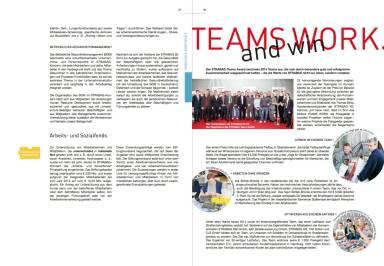 Strabag Geschäftsbericht 2014 - Teams Work and win