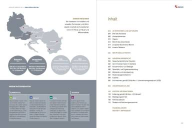 S Immo Geschäftsbericht 2014 - Inhaltsverzeichnis