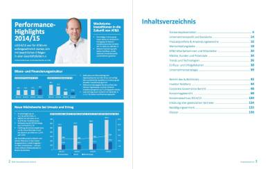AT&S Geschäftsbericht 2014/15 - Performance Highlights