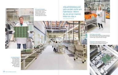 AT&S Geschäftsbericht 2014/15 - »Qualitätsbewusst sein endet nicht am Fabrikstor. Wenn du es ernst meinst, lebst du das.«