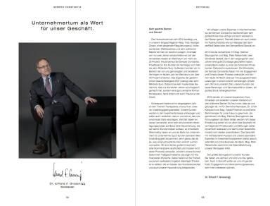 Semper Constantia Geschäftsbericht 2014 - Dr. Erhard F. Grossnigg Vorsitzender