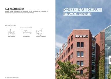 Buwog - Konzernabschluss