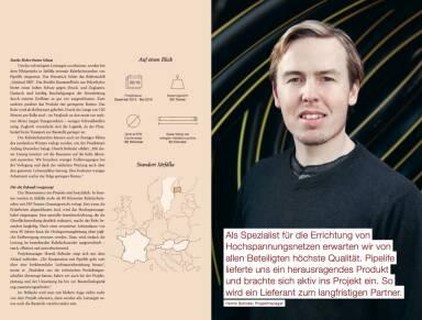 Wienerberger - Als Spezialist für die Errichtung von Hochspannungsnetzen erwarten wir von allen Beteiligten höchste Qualität.
