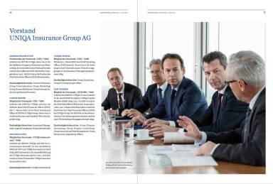 Uniqa Geschäftsbericht - Vorstand