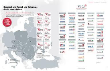 VIG Österreich, Zentral- und Osteuropa