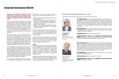 VIG Corporate Governance Bericht