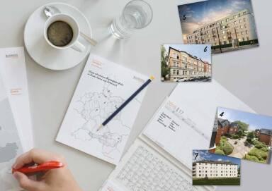 Buwog - Kaffe, Schreiben, Postkarten