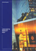Vorne of book 'Bericht Geschäfts - Immofinanz Geschäftsbe...