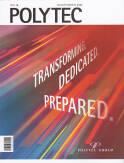 Vorne of book 'Bericht Geschäfts - Polytec Geschäftsberic...
