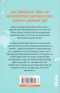 Hinten of book 'Bericht Geschäfts - Ich versteh die Welt ...