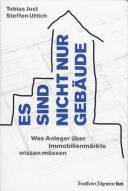 Vorne of book 'Bericht Geschäfts - Tobias Just, Steffen U...