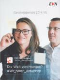 Vorne of book 'Bericht Geschäfts - EVN Geschäftsbericht 2...