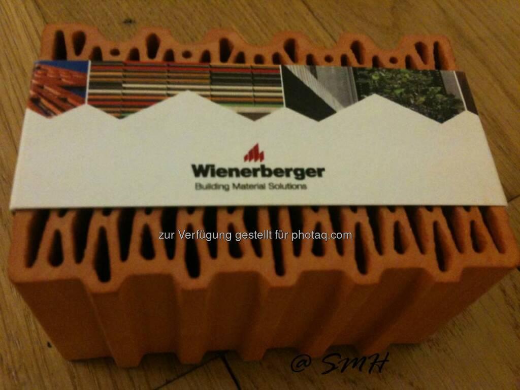 Wienerberger Liefert Gute Gründe, Sein Haus Mit Ziegeln Zu Bauen Und So  Viel Investiert Voestalpine In Die Umwelt (Social Feeds Extended)