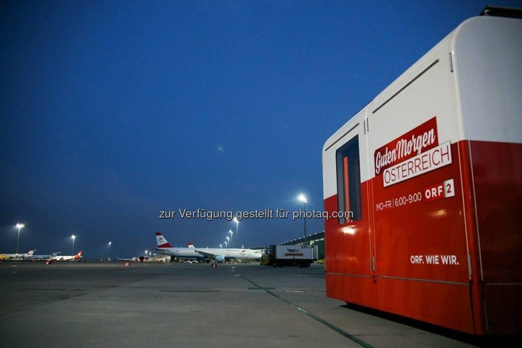 Guten Morgen österreich Vom Flughafen Wien Holly Bot Auf
