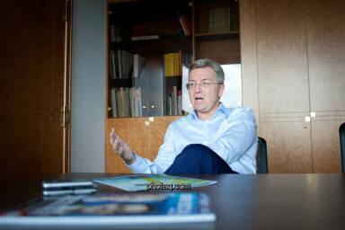 Generalbevollmächtigter bei der RBI Michael Höllerer (Fotocredit: Michaela Metja/photaq.com)